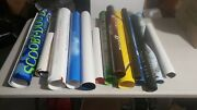 Huge 45 Disney Movie Poster Lot Authentic And Vintage Toy Story Shrek 2...
