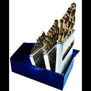 Century Drill And Tool 26329 Cobalt Drill Bit 29pc Set 1/16 To 1/2 By 64ths