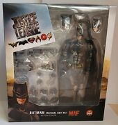 Justice League Mafex Batman Tactical Suit Action Figure No.64 In Hand To Ship