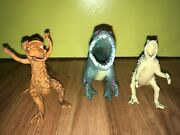 Rare Vintage Hollow Godzilla Monsters Dinosaurs Figures Toys Super Cool Vgc