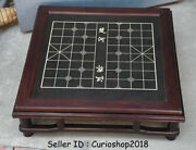 23.2 Old Chinese Huanghuali Wood Dynasty 楚河汉界 Boundry Line Chessboard Table