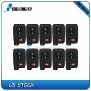 10 Keyless Entry Remote Fob For Toyota 4runner Prius Venza Hyq14acx 314.3mhz
