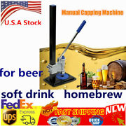 Manual Bottle Machine Bottle Cap Capping Machine For Soft Drink Brew Beer Capper