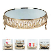 1 Pc Storage Plate Storage Stand Antique Stylish Cake Rack For Party