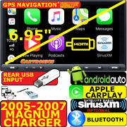 05-07 Magnum/charger Hdmi Caplay Android Auto Bluetooth Opt. Siriusxm Car Radio