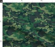 Camo Camouflage Usa Marines Us Army Military Spoonflower Fabric By The Yard