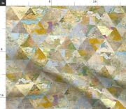 World Map Old America Spoonflower Fabric By The Yard