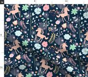 Unicorn, Floral, Magical, Fantasy, Flower, Horse, Spoonflower Fabric By The Yard