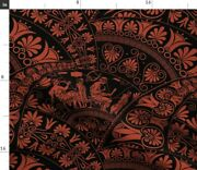 Greek Art Greece Ancient Ornate Artistic Spoonflower Fabric By The Yard