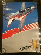 1983 Coors Silver Bullet Worlds Smallest Jet Poster 20x28