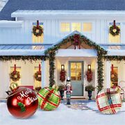 Home Decoration Inflatable Ball Christmas Decoration Ball Outdoor Decoration