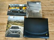 2011 Bmw Owners Manual Literature Leather Case F01 F02 F04 7 Series 09-2012