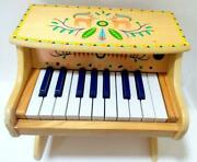Djeco Animambo Children's Wooden Battery Piano 18-key Made In France 12