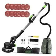 Drywall Sander, 6a 7 Variable Speed 1000-1800rpm Wall Sander With Vacuum
