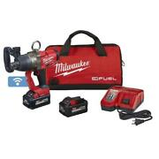 M18 Fuel 1 High Torque Impact Wrench Kit With 2 Batteries