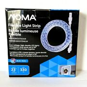 Noma 23 Ft Led Rope Blue Holiday Christmas Lights Waterproof Indoor/outdoor