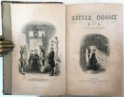 1857 First Edition Dickens Little Dorrit Illustrated H.k. Browne 40 Plates