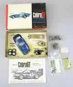 Vintage 1965 Shelby Cobra Gt 1/32 Scale Slot Car Competition Series W Box Rare