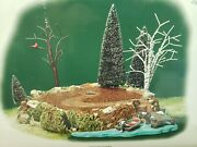 Dept 56 Village Accessory Sounds Of The North Woods 53025 Tested Ships Free