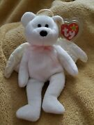 Rare 1998 Halo Beanie Baby With Brown Nose Mint Condition, Tush Tag 425