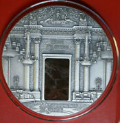 Fiji 10 Dollar Silber 2014 Blue Drawing Room 3 Oz F4304 Antique Masterpieces
