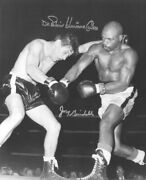 Rubin Hurricane Carter - Photograph Signed Co-signed By Joey Giardello