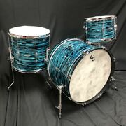 Candc Custom Pdii Big Band Turquois Black Oyster Drum Shell Pack