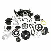 Holley 20-200bk Premium Mid-mount Complete Accessory System