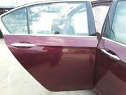 Passenger Rear Side Door Electric Hybrid Us Built Fits 14-15 Accord 255685