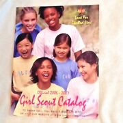2006 /07 New Catalog Girl Scout Uniforms Jewelry Clothing Dolls Books Collector