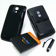 6300mah Extended Battery Back Cover Charger For Samsung Galaxy S4 Mini Sgh-i257