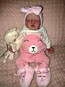 Sweet Hayley Is Full Body Silicone Reborn Doll. Newborn Size 20 Inches.
