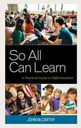 So All Can Learn A Practical Guide To Differentiation By Dr. Mccarthy, John