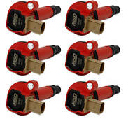 Msd Red Coil For Ford Eco-boost 3.5l V6 6-pack 3 Pin Connector Reliable