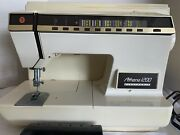 Singer Athena 1200 Electronic Embroidery Serger Sewing Machine W/ Pedal + Case