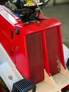 Oem Yamaha Banshee Yfz350 Radiator Cover Grill Front Panel Red 1987 2006 Used
