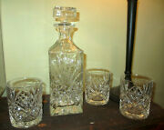 Scandal Screen Used Oval Office Decantor And Glasses Fitz Production Prop