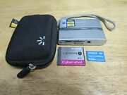 Sony Cyber-shot Dsc-t9 6mp Digital Camera - Silver With 2gb Battery And Case