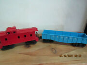 Lionel Undecorated Caboose And 6042 Gondola Lot