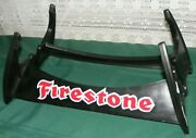 2 Firestone Signs Tire Stand Display Rack