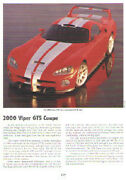 2000 Dodge Viper Gts Coupe Article - Must See