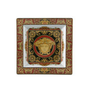 Versace By Rosenthal Germany Medusa Tray 5 1/2 Inch.