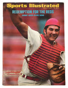 Sports Illustrated March 13, 1972 Johnny Bench Cincinnati Reds