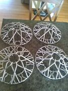 1950and039s Accessory Wire Wheel Covers Hubcaps Chevrolet Buick Ford Dodge Chrome