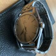 Omega Seamaster Antique Men's Watch 286 Caliber Ranchero Case Used Excellent