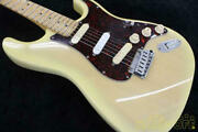 Fender Usa Deluxe Plus Blonde N3155304 With Tough Case