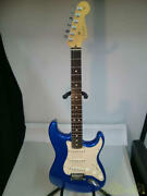 Fender Usa Stratocaster 50th Anniversary Electric Guitar 2004 With Tough Case