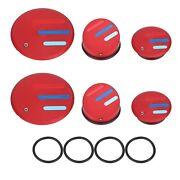 Red Frame End Caps Blanking Plugs For Bmw R1200 R1250 Gs Lc + Adventure 2013+ Sg