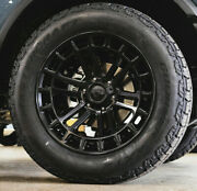 20x9 Fuel D718 Heater Black Wheels 33 At Axt2 Tires 6x5.5 2021 Ford Bronco