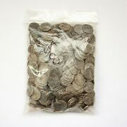 1943 Steel Pennies - Bag Of 500 Circulated P D S Mint Marks Wwii Wartime Cents